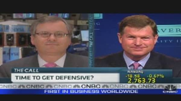 Stock Market: Time to Get Defensive?