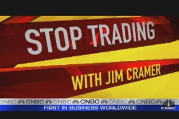 Stop Trading: Jim Cramer