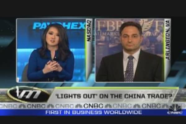 'Lights Out' on China Trade?