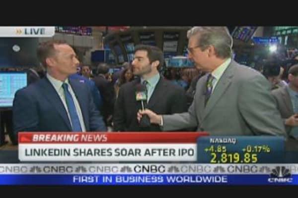 Invitation to Invest in LinkedIn IPO