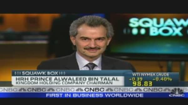 Saudi Prince Alwaleed: Markets Stabilizing