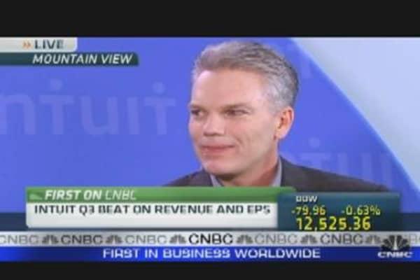 Intuit Investors Take Profits