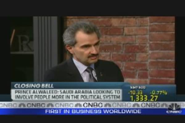 Saudi Prince Alwaleed & the Markets