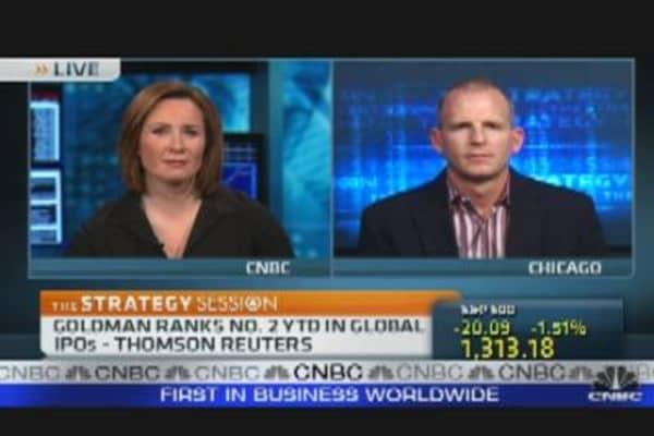 Goldman Sachs Stock Stalled