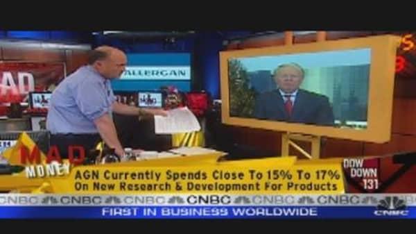 Allergan CEO Talks Earnings