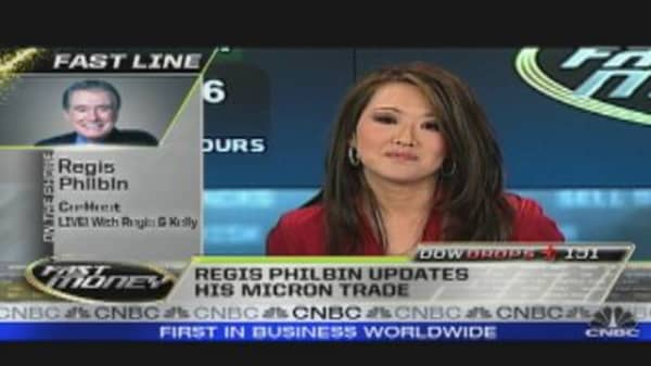 Regis Philbin Talks Stocks