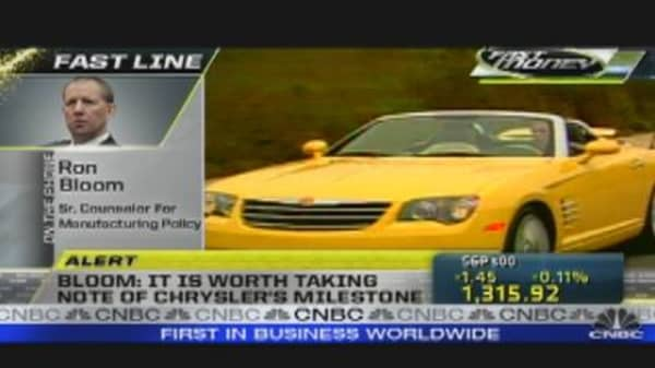 Chrysler Repays TARP
