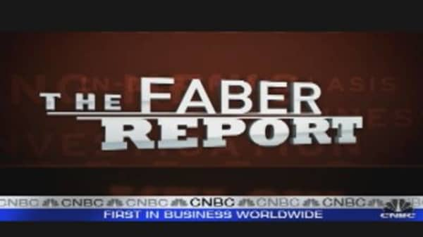 Faber Report: Corporate Cash Kept Overseas