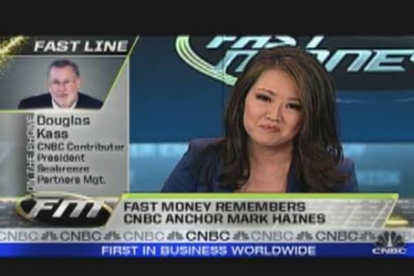 Fast Money Tribute: Mark Haines