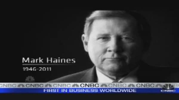 Mark Haines: CNBC's Special Tribute