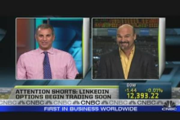 Options Begin Trading on LinkedIn