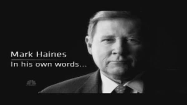 Haines: In His Own Words
