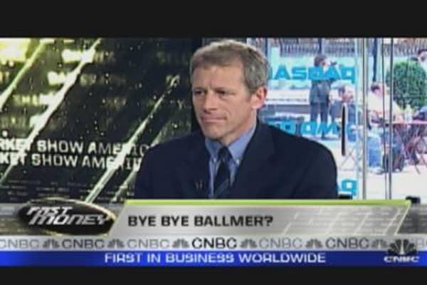 Is Microsoft's Ballmer Leaving?