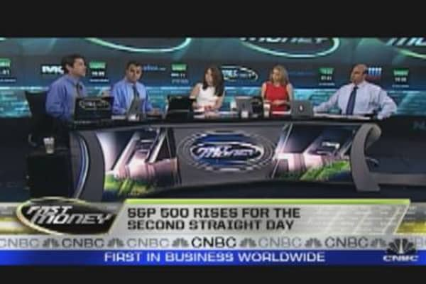 Big Cap Tech Stocks in Green