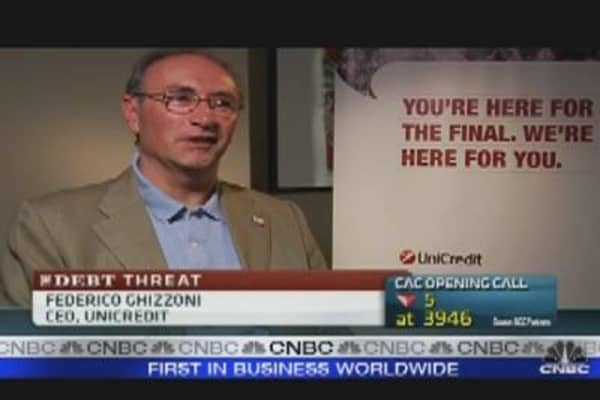 Italy Is No Greece: Unicredit CEO