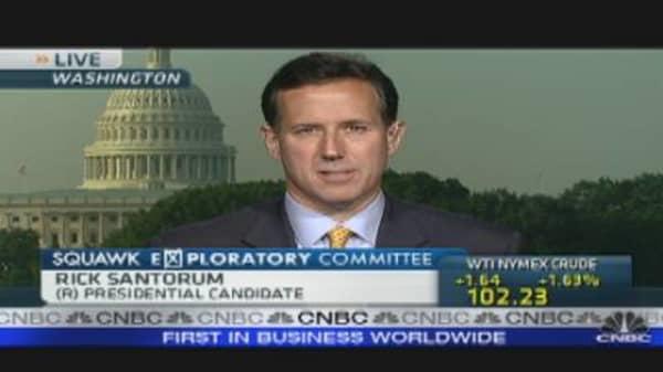 Rick Santorum's Job Plan