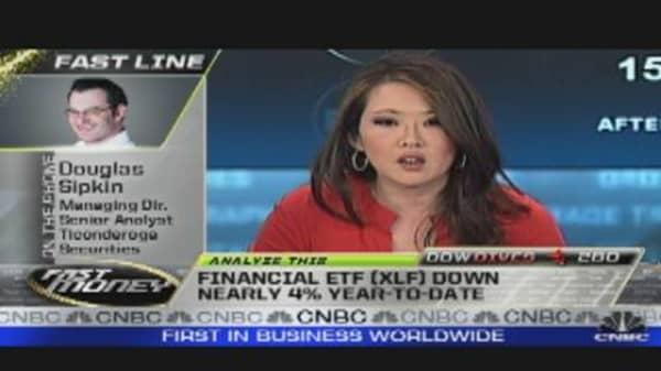 Analyze This: Financials Hit Hardest
