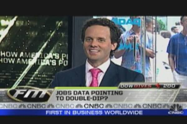 Jobs Data Pointing to Double-Dip?