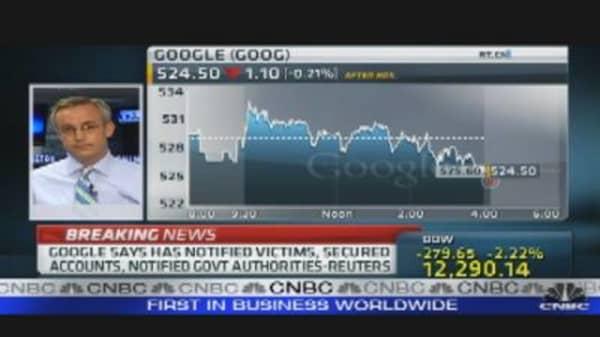 Google Gets Hack Attack