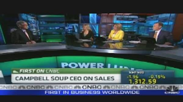 Campbell Soup CEO on Sales