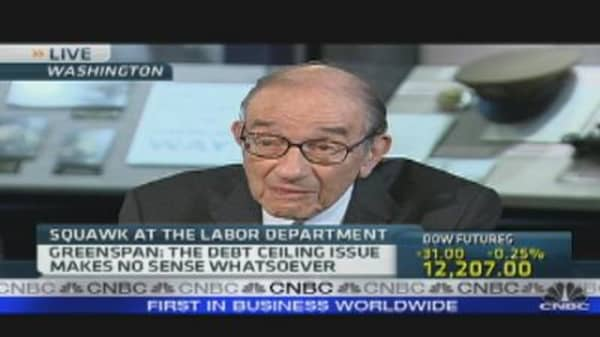 Alan Greenspan on  U.S. Debt