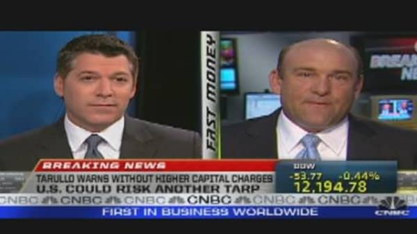 Tarullo: Higher Capital Charges For Big Banks