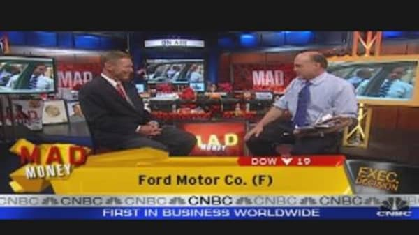 Ford's Mulally Speaks to Cramer