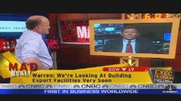 ETP CEO Speaks to Jim Cramer