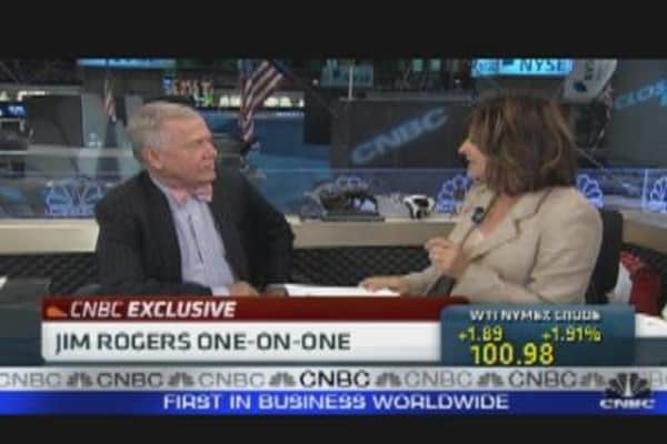Jim Rogers One-on-One