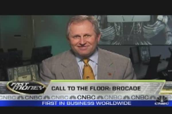 Call to the Floor- Brocade