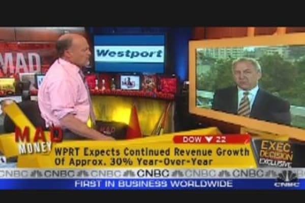 Westport CEO Talks Earnings