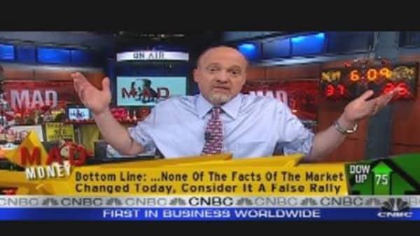 Cramer's Take on Market Rally