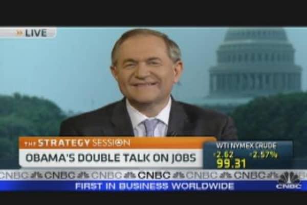 Obama's Double Talk on Jobs