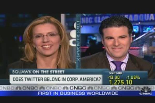 Does Twitter Belong in Corporate America?