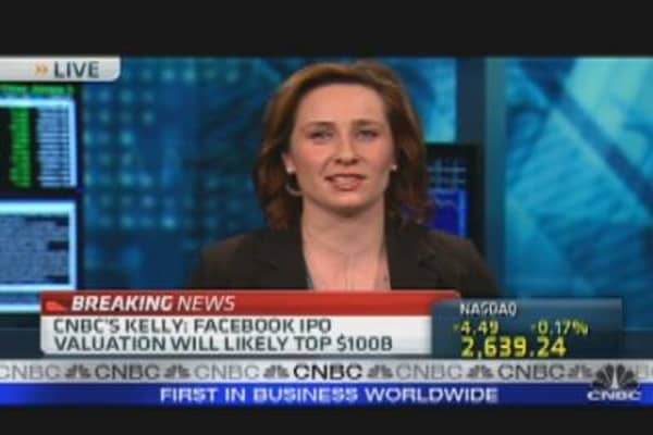 Facebook: $100 Billion Baby?