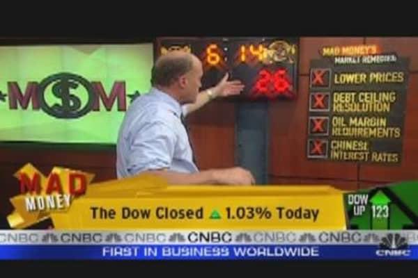 Cramer's Checklist for a Better Market