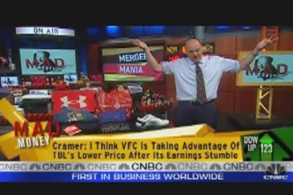 Cramer Talks Merger Mania