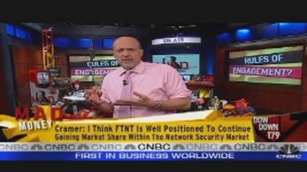 Cramer's Bullish on Cyber Security