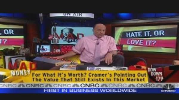 Cramer Getting Bearish?