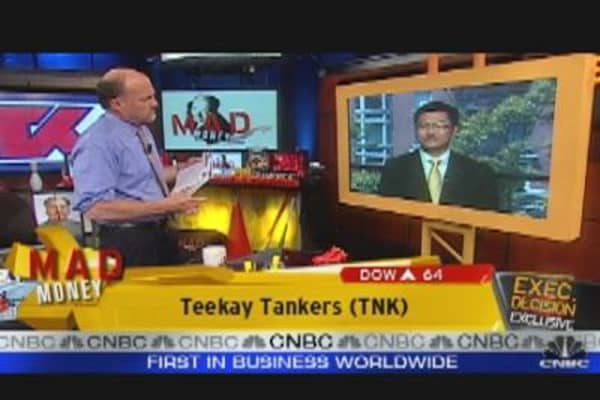 TNK CEO Speaks to Cramer