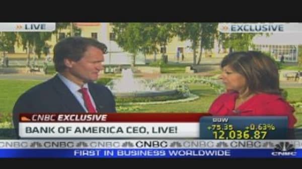 Bank of America CEO on Mortgage & Housing