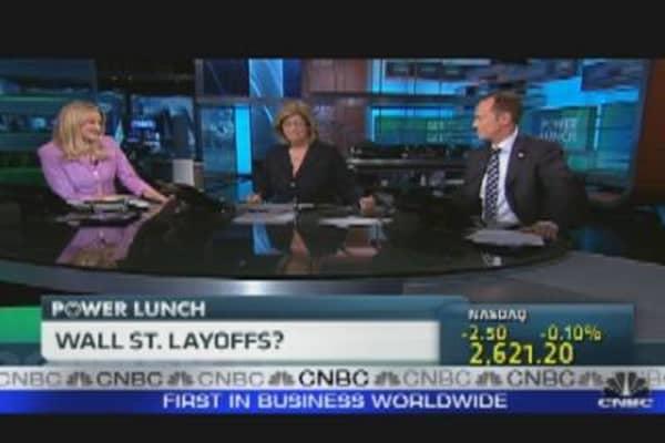 Wall Street Layoffs?