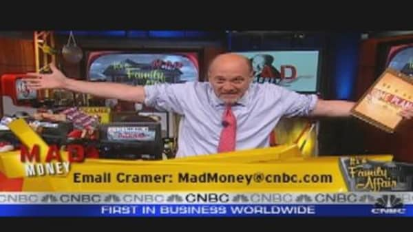 Cramer's Market Game Plan