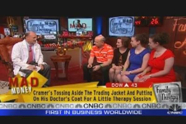 Cramer Offers Family Therapy