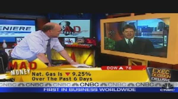 LNG CEO Talks to Cramer