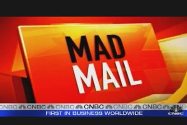Cramer Answers Mad Mail