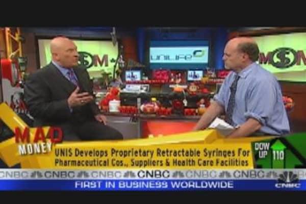 UNIS CEO Speaks to Cramer
