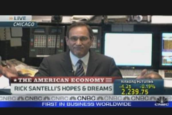 Rick Santelli's Hopes and Dreams