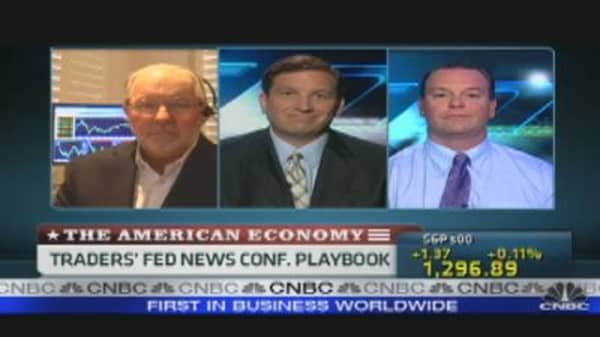 Bernanke Press Conference Playbook