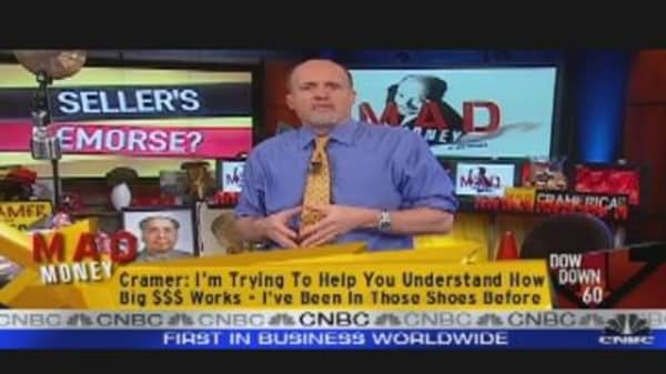 Cramer Discusses Sellers Remorse